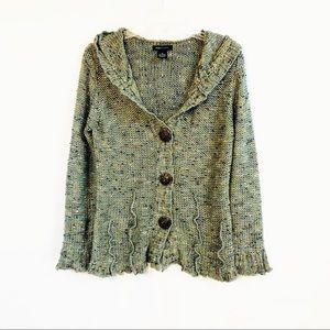 BCBGMaxAzria Hooded Cardigan
